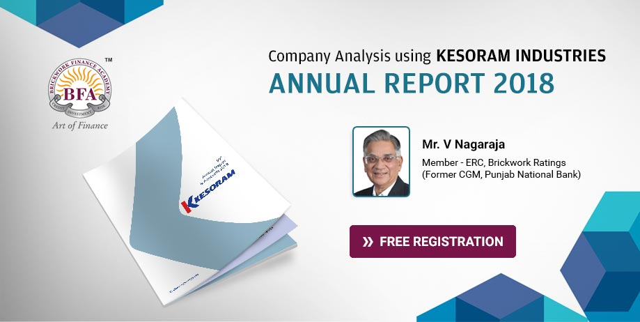 Company Analysis using Kesoram Industries Annual Report 2018