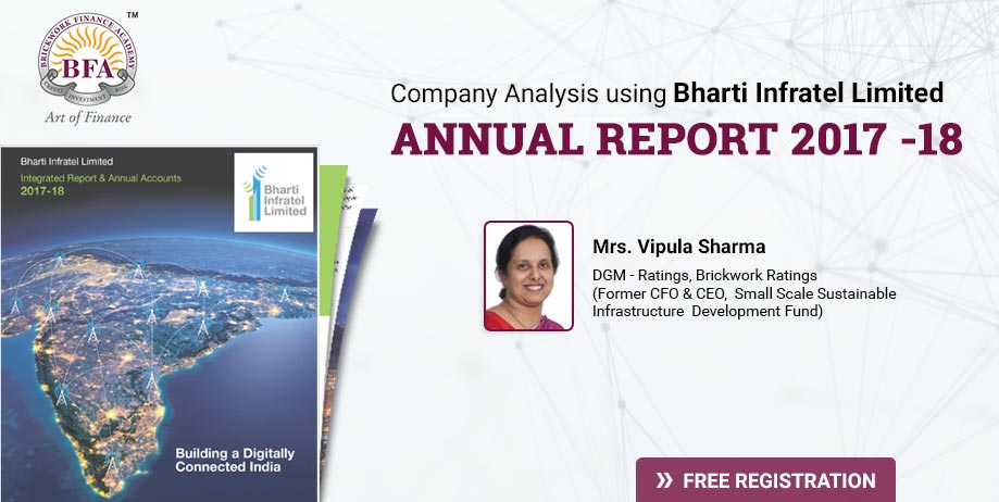 Company Analysis using Bharti Infratel Limited Annual Report 2017 -18