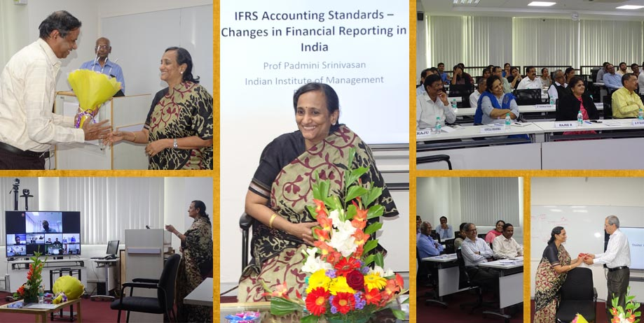 Guest Lecture at BFA on January 21, 2019 by Dr. Padmini Srinivasan