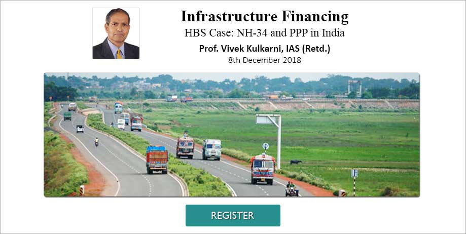Infrastructure Financing HBS Case: NH-34 and PPP in India