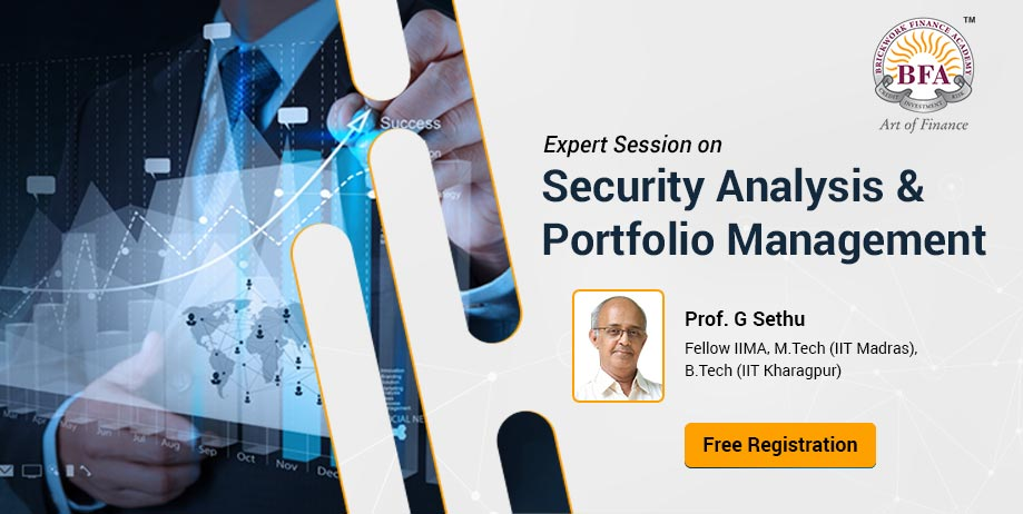 Security Analysis & Portfolio Management