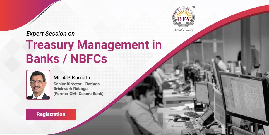 Treasury Management in Banks / NBFCs